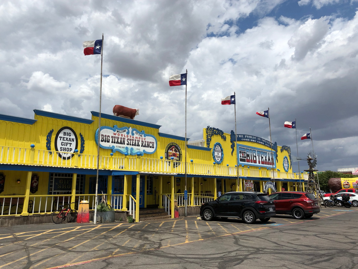 Amarillo, Texas, is home to a number of popular tourist attractions, including Cadillac Ranch and the American Quarter Horse Association Museum. The city is the largest in the Texas Panhandle, with a population of about 200,000.