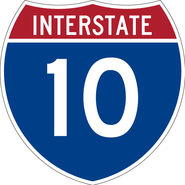 Interstate 10 West