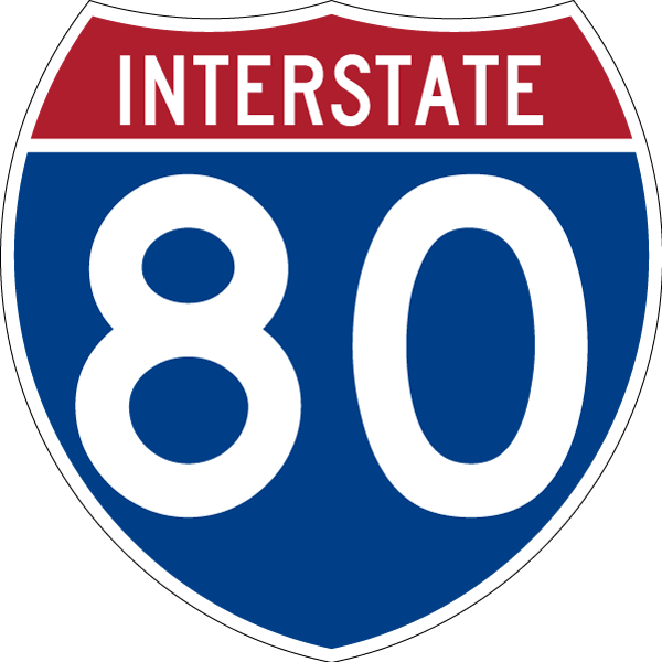Interstate 80 East
