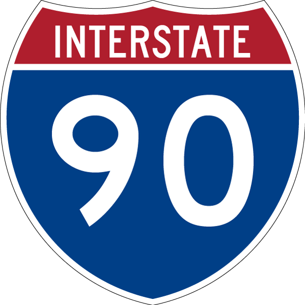 Interstate 90 East